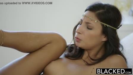 Slow sensual oral job
